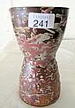 Ivan Englund Australian drip glaze waisted vase