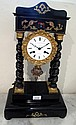 Antique French Portico clock in working order