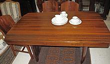 Art Deco Brazilian Rosewood dining table