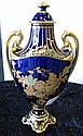 Royal Crown Derby richly gilded lidded vase