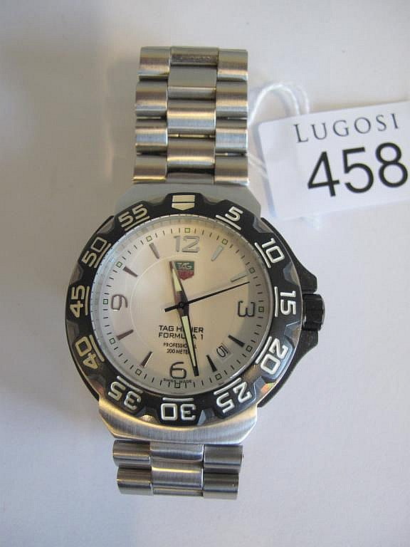 Tag Heuer man's stainless steel Formula 1