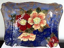Royal Doulton Poppies porcelain plate 23cms W