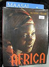 Large volume Africa by Olivier Follmi, with volume