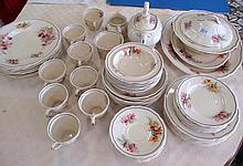 Royal Doulton Orchids pattern dinner service (58)