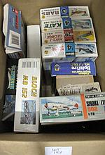 Small box model kit planes
