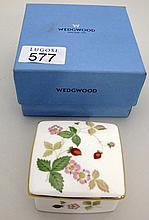 Wedgwood boxed porcelain trinket box