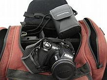 Nikon Coolpix 5700 with Olympus super zoom800