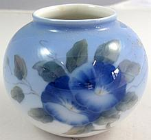 Royal Copenhagen small ovoid porcelain vase with