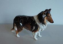 Royal Doulton Collie Dog HN1058