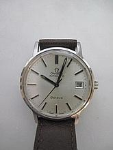 Omega Geneva Automatic wristwatch working