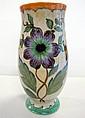 Vintage Gouda floral vase
