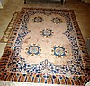 Fine quality Chinese wool floor rug measures 2.45m