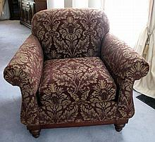 Drexel USA Heritage Collection club armchair