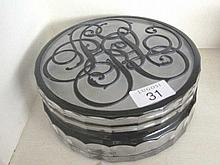 Ralph Lauren Hungarian crystal box with original