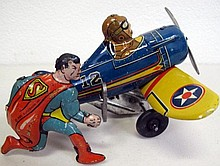 Collectors Cabinet Auction includes Rare Tinplate Toys