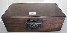 Antique Chinese Huanghuali document box with good