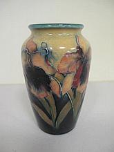 Moorcroft Flag Iris vase measures 13.2cm high
