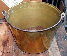 Hayden's Company 1866 Brass Bucket