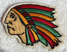 Unused 1912 Indian Motorcycle Patch Rare