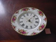 Royal Albert Clock Plate