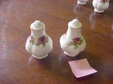 Royal Albert Salt & Pepper Shakers