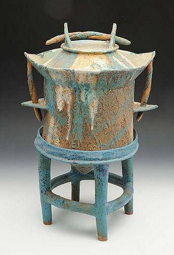 Henry Pim (British, b.1947) A sculptural vessel,