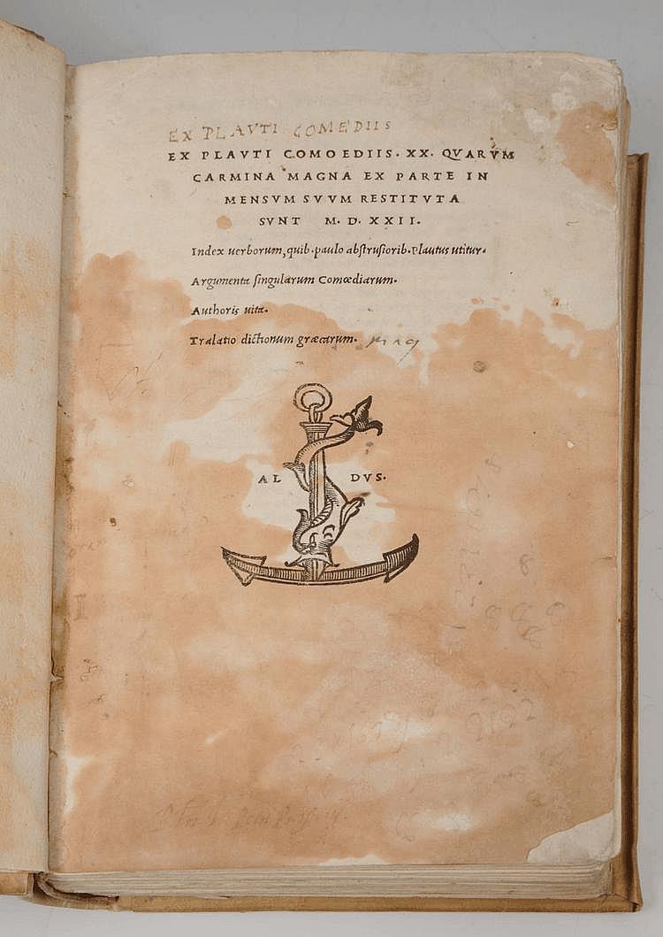 PLAUTUS,(Titus Maccius), Comediis xx quarum