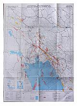 12 Maps of the Iran region, including A General Information map. 1978 Edition, Oil Service Company, Global Navigation and Tactical Piloting Charts of the Region.  12   100