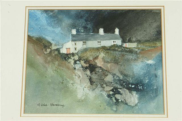 GWILYM JOHN BLOCKLEY (20TH CENTURY) 'Welsh