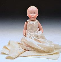 Geburder Heubach child doll circa 1912, 23.5cm