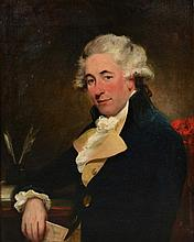 Early 19th Century English School Portrait of John Matlock,
