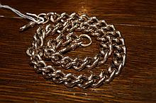 9ct gold chain of link form, 128 grams