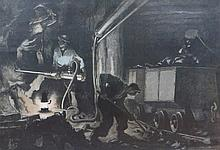Josef Danilowatz (Austrian, 1877-1945) The miners