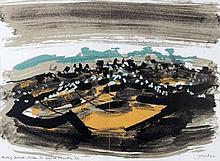 John Piper (British, 1903-1992)  Stones and Bones XI, Moors of Cornwall: Kil