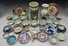 A COLLECTION OF CHINESE AND JAPANESE PORCELAIN