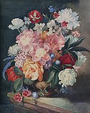 W.H. JAMIESON (Exh. 1911-18) Still life - a vase
