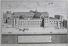 JAMES PYE AFTER WENCESLAUS HOLLAR 'Hampton Court,