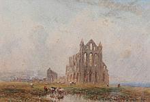 MYLES BIRKET FOSTER (1825-1899) 'Whitby Abbey' an