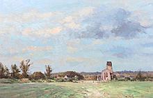 JAMES LONGUEVILLE (b. 1942) 'Spring Time, Covehit