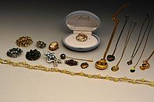 A collection of miscellaneous costume and other jewellery  includi