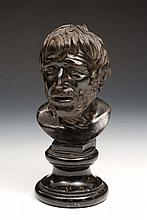 An Italian bronze 'Grand Tour' bust by Sabatino of Naples  known a
