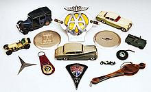 A small collection of miscellaneous toy cars  including a Corgi Be