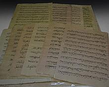 Indian Folio pages from the Quran 19th Century (28
