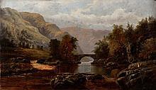 WILLIAM HENRY MANDER (1850-1922) A mountainous riv