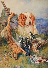 CIRCLE OF ARTHUR WARDLE (1864-1949) An afternoon's work, wa