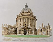 DAVID GENTLEMAN (b. 1930) The Radcliffe Camera, lithograph