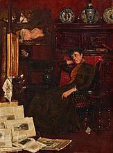 JOHN ARTHUR LOMAX (1857-1923) The Art Connoisseur, signed,