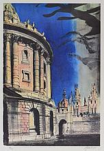 JOHN PIPER (1903-1992) The Radcliffe Camera 1981, five colo