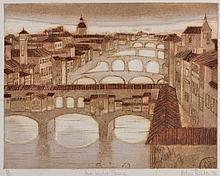 VALERIE THORNTON (1931-1991) 'Ponte Vecchio,