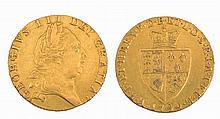 A GEORGE III GUINEA, dated 1790